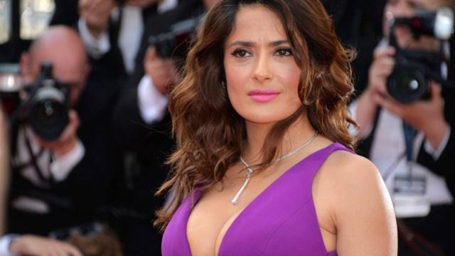 Salma Hayek, actriz y productora mexicana