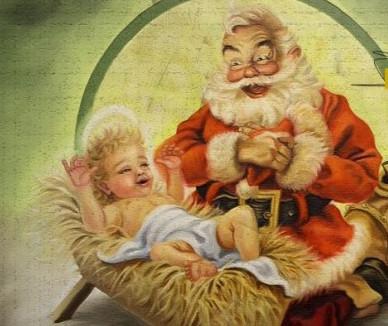 Santa Claus vs. Niñito Dios