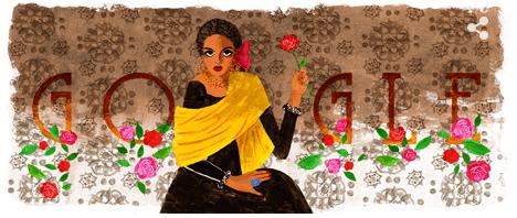Doodle de Google de la actriz mexicana Katy Jurado