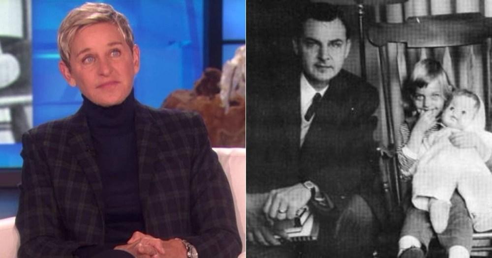 Ellen DeGeneres rindió tributo a su fallecido padre, Elliott DeGeneres