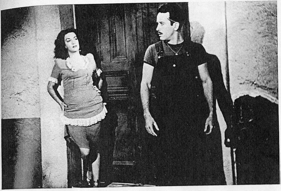 Katy Jurado, Actriz Mexicana, con Pedro Infante