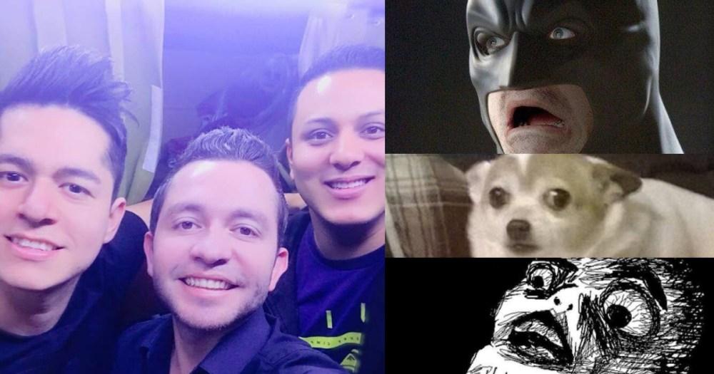 Un supuesto fantasma en la selfie de La Adictiva