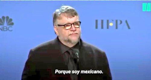 Guillermo-del-Toro-Porque-soy-mexicano-Globos-de-Oro-meme