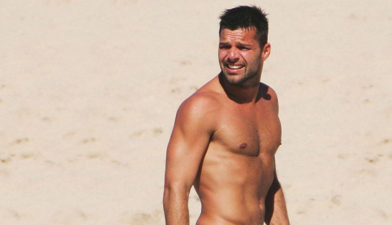 Ricky Martin sube foto desnudo para promocionar show en Las Vegas