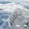 Video: Enorme ola se traga un buque en la Antártida