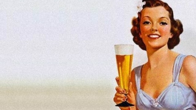Por su bien las mujeres deben beber cerveza