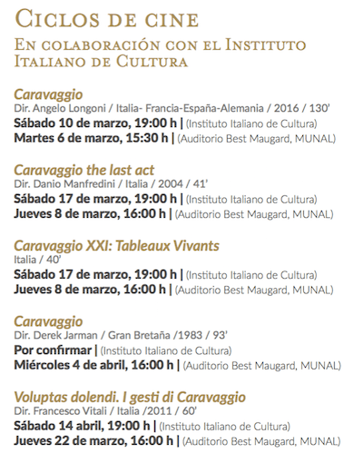 Caravaggio: Una obra, un legado