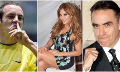 Cuauhtémoc Blanco, Liliana Lago y Enrique Garay