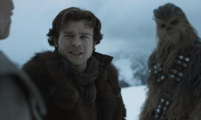 "Ya llegó, ya está aquí, el primer tráiler de ""Solo: A Star Wars Story"""