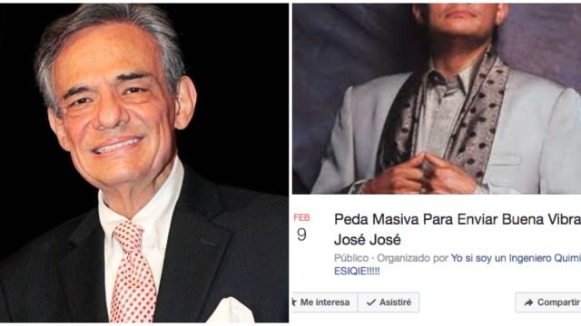Por la salud de José José, ¡peda masiva de las buenas vibras!