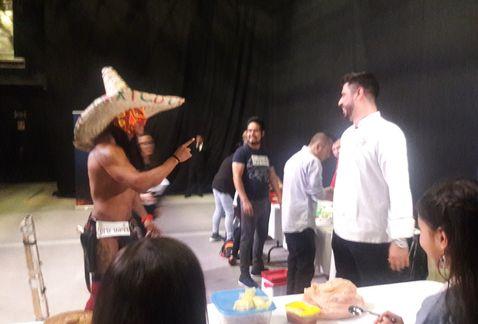 Dragón Rojo Master Chef Casting