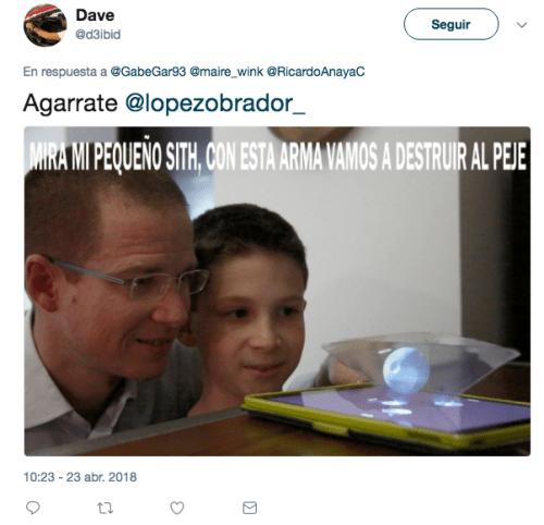 Ricardo Anaya Holograma