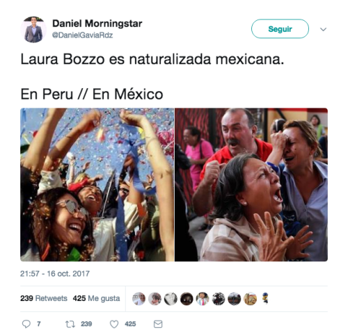 Laura Bozzo Nacionalizada