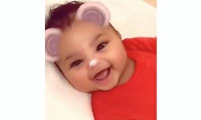 Stormi Webster bebé linda Kardashian Instagram