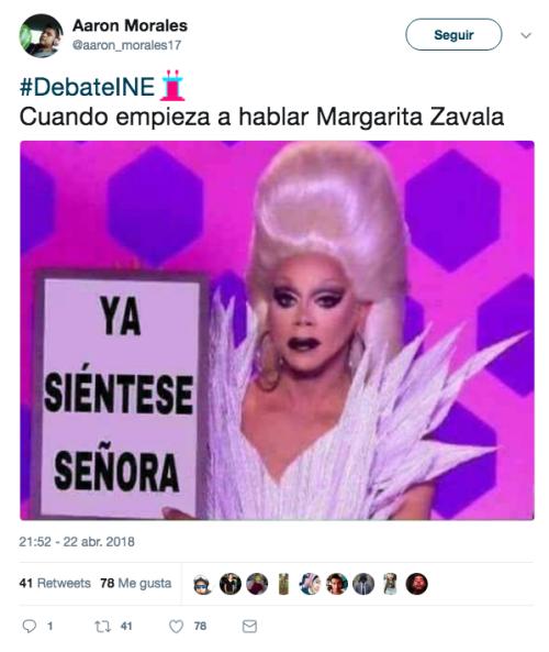 Margarita Zavala debate presidencial