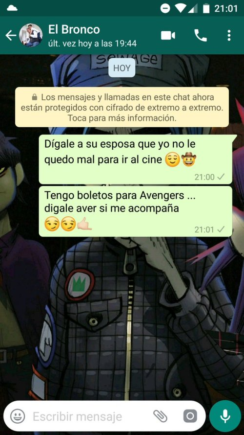 Bronco WhatsApp