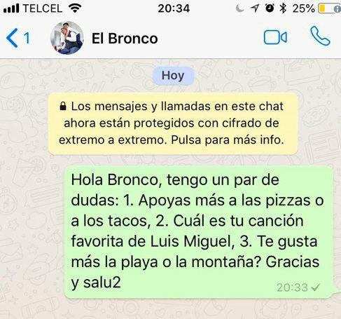 Meme bronco whatsapp