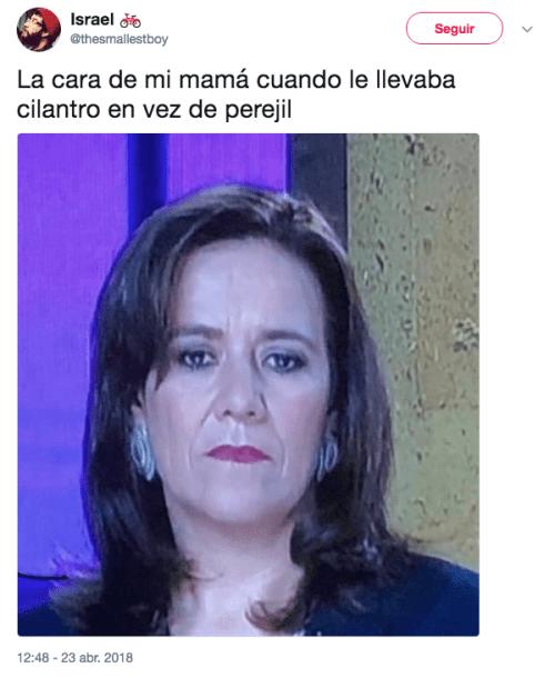 Memes de Margarita Zavala debate