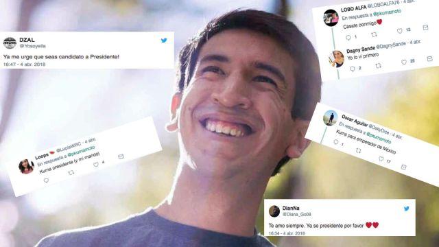 Pedro Kumamoto hace meme la gente enloque