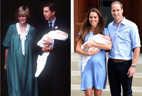 Kate Middleton homenajeó a la princesa Diana con su vestido