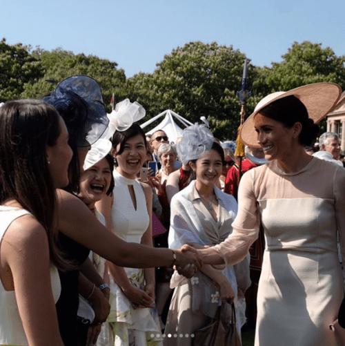 Primer evento oficial duquesa de sussex