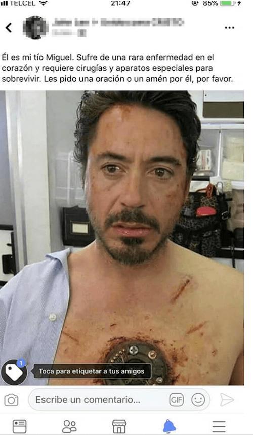 Tías Bendiciones Piolines Oraciones Tony Stark