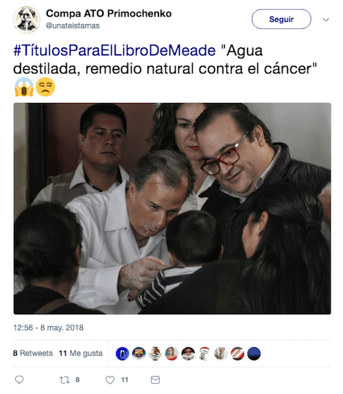 Pepe Meade Internet Título Libro Candidato