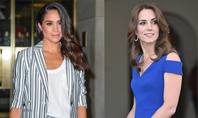 Meghan Markle Kate Middleton Ricas Príncipes Hilliam Harry