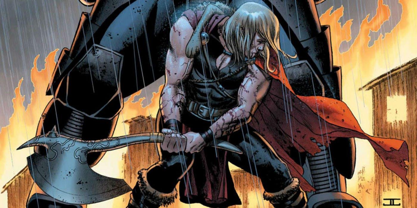 Jarnbjorn-martillo-hacha-guerra-uso-thor-comics-marvel-mcu
