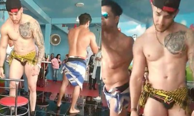 Stripers en evento de Morena Ecatepec