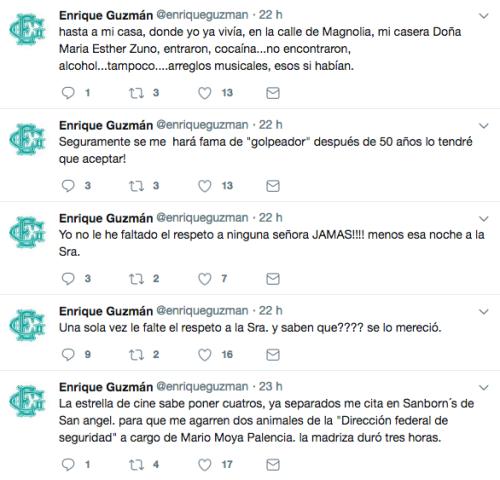 Enrique Guzman denuncia Silvia Pinal
