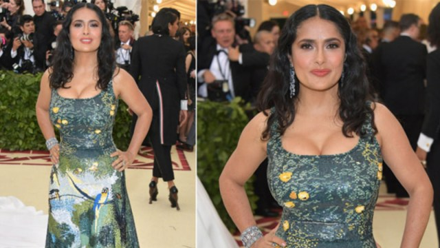 Vestido Met Gala Salma Hayek