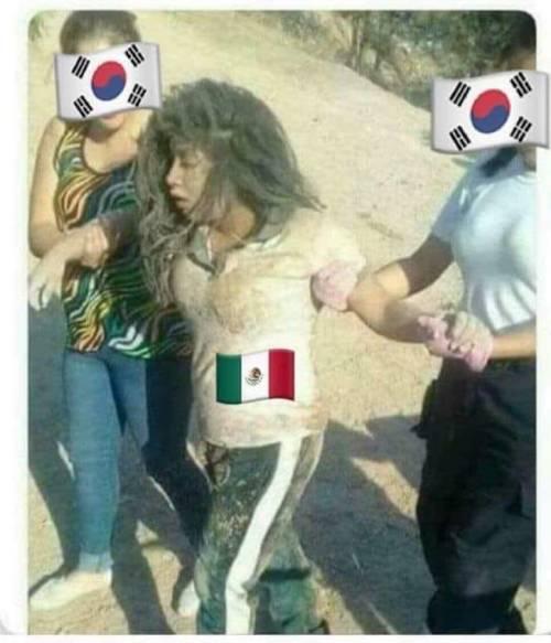 Memes Corea del Sur Mexico Octavos De Final