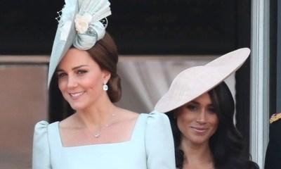 Kate Middleton Meghan Markle lucen increíbles fiesta Reina