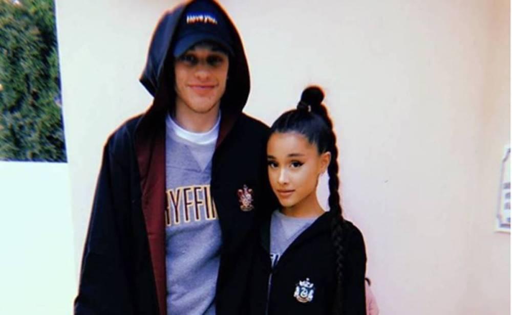 Ariana-Grande-Pete-Davidson-Comprometida-Novio