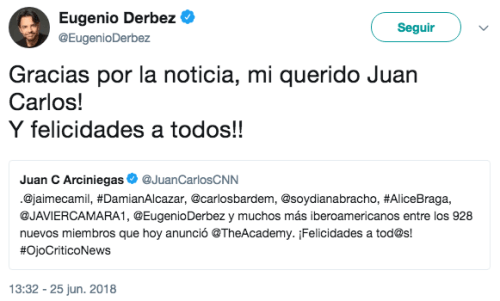 Eugenio Derbez Jurado Oscar