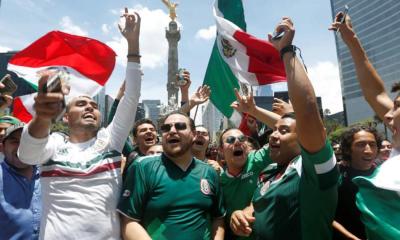 Así se puso la fiesta (p$da) nacional por el triunfo de México