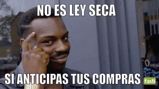 Los mejores memes para sobrevivir a la Ley Seca