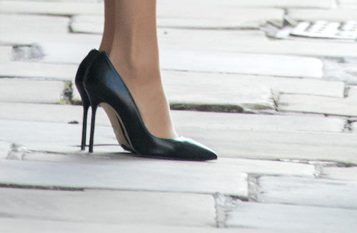 Meghan Markle Zapatos Grandes