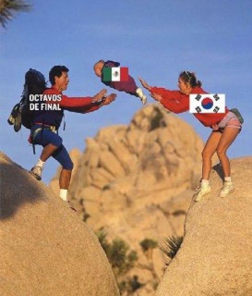 Memes corea mexico octavos de final