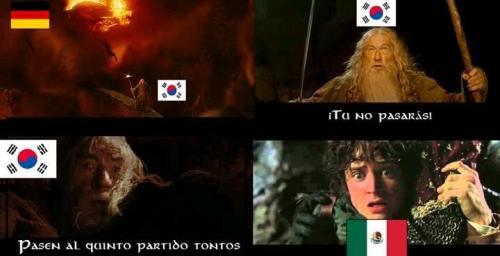 Memes corea mexico octavos