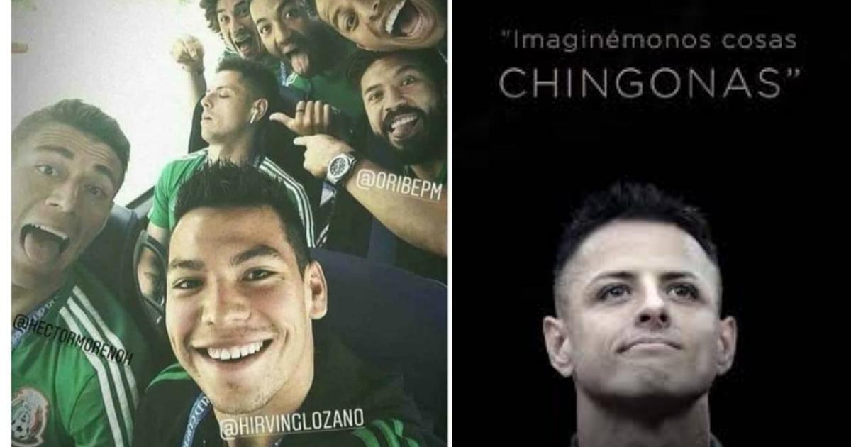 Imaginemos Cosas Chingonas Chicharito, Chicharito, Cosas Chingonas, Memes, Javier Hernandez, Rusia 2018