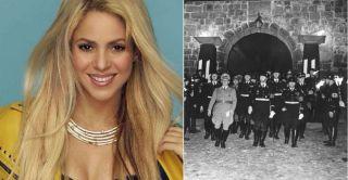 Resultado de imagen de Shakira dorado tour necklace