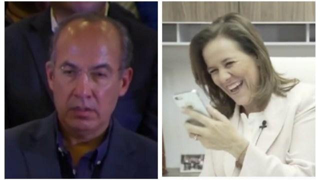 Felipe Calderón Margarita Zavala Twitter Tuiteros TQM MRC