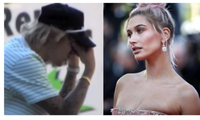 Justin Bieber llorando Fuera de casa Hailey Baldwin