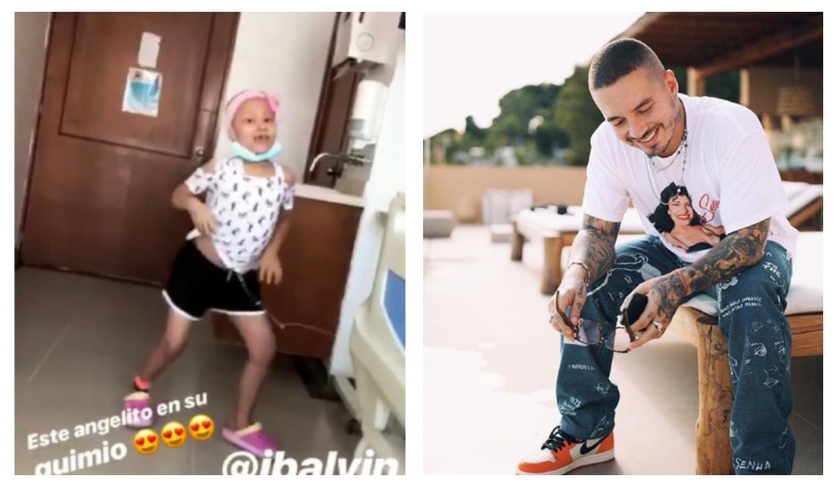Niña hospitalizada Lucha contra enfermedad Ritmo de reggaeton