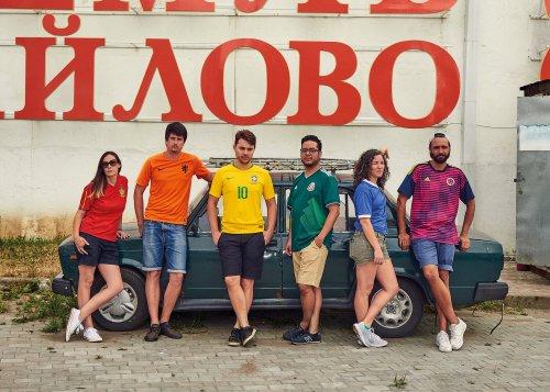 Bandera Orgullo Gay en Rusia