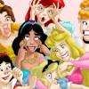 Princesas Disney Modelos Seguir Películas Príncipe