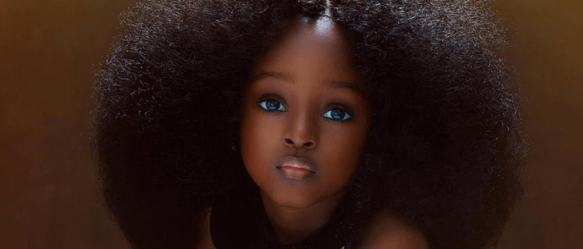 Niña bonita Del Mundo Ciudadana Nigeria