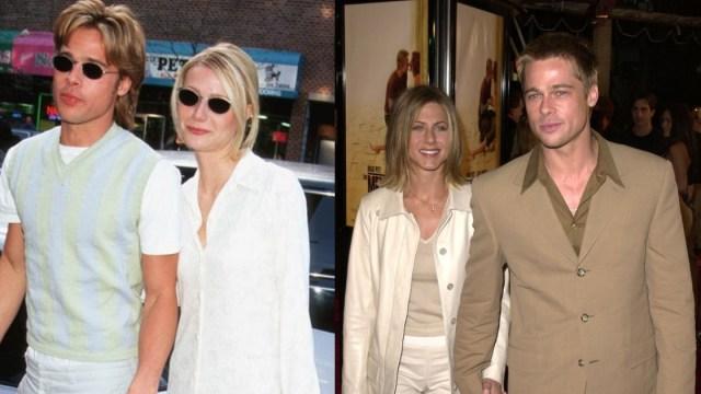 Brad Pitt Novias, Brad Pitt Obsesion Novias, Brad Pitt Se Parece Novias, Brad Pitt, Angelina Jolie, Jennifer Aniston